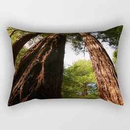 Redwood Tree Tops Rectangular Pillow
