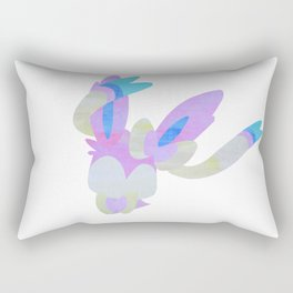 Watercolor Sylveon Rectangular Pillow