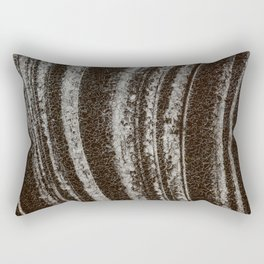 Symphony on ice - Macro image of ice Rectangular Pillow