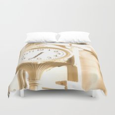 Time is of the Essence  Duvet Cover