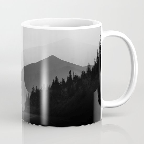 Dusky Mountains Mug
