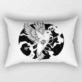 Spilled Existence Rectangular Pillow