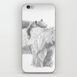 Mama and Cub iPhone Skin