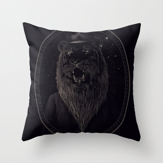 Call of the Wild Night Throw Pillow