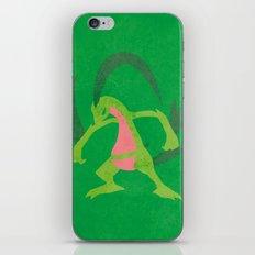 Grovyle iPhone & iPod Skin