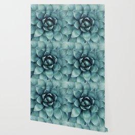 Aloe Green Agave Wallpaper