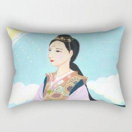 Yuko Nagamori   Tsuyu no Hito, 2014 Rectangular Pillow