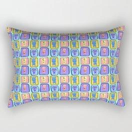 Super Cute Monsters Rectangular Pillow