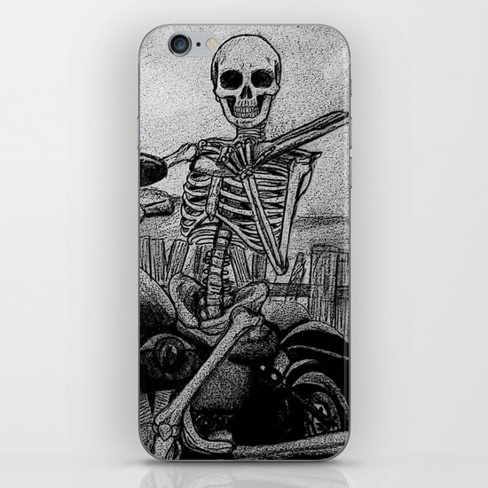 Skeleton Fat Boy iPhone & iPod Skin