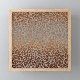 AFE Mosaic Tiles 4 Framed Mini Art Print
