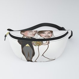 Wedding caricature 2 Fanny Pack