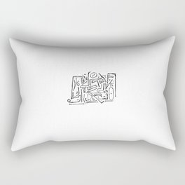 CHATTR CHAKKR - SONG PORTRAIT Rectangular Pillow