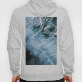 Wave in Ireland during sunset - Oceanscape Hoody