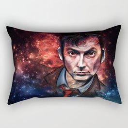 Tenth Doctor Rectangular Pillow