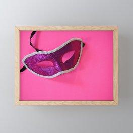 Masque Framed Mini Art Print