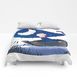 Moon lover Comforters