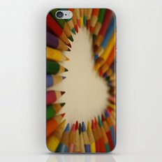 you color my world  iPhone & iPod Skin