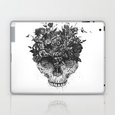 My head is a jungle (b&w) Laptop & iPad Skin