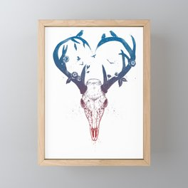 Neverending love Framed Mini Art Print