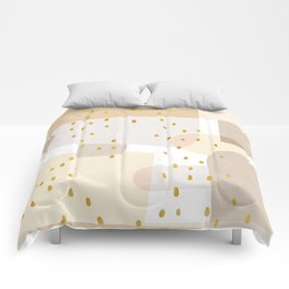 Conglomeration in Cream Comforters