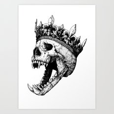 Ancients Kings : The Hound Art Print