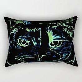 Torti Cat Rectangular Pillow