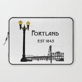 Historic Portland, Oregon by Seasons K Designs Laptop Sleeve