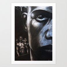 NY FACE Art Print