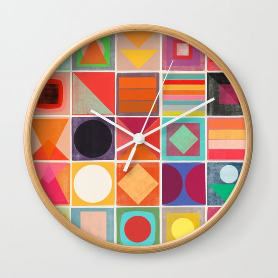 awake 1 Wall Clock