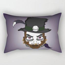 Voodoo King Rectangular Pillow