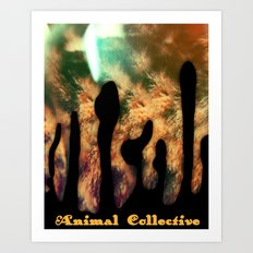 animal collective Art Print