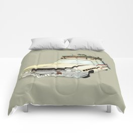 80´s tv and films cars (ghostbusters) Comforters