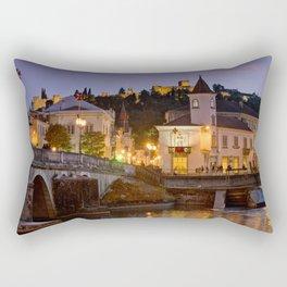 Tomar town centre, Portugal Rectangular Pillow