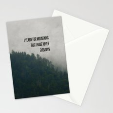 Mountain Yearning  Stationery Cards