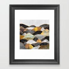 Hills Framed Art Print