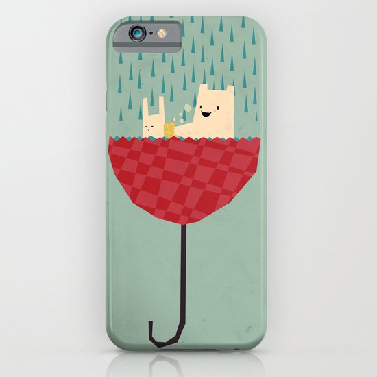umbrella bath time! iPhone & iPod Case