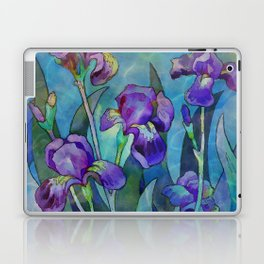 Fantasy Irises Laptop & iPad Skin