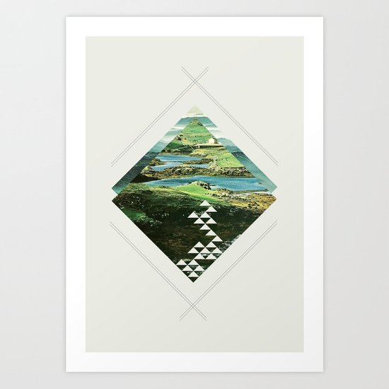 scotland and other places Art Print