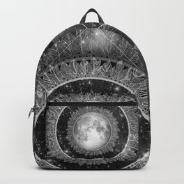 Major Tom (floating in my tin can, far above the Moon) Backpack