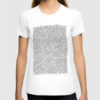 world maps T-shirts featuring A Lot of Cats by Kitten Rain