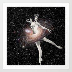 Cosmic Ballerina, Part 2 Art Print