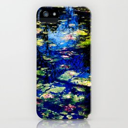 Water is the Color of Life iPhone Case