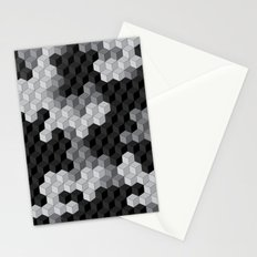 CUBOUFLAGE BLACK & WHITE Stationery Cards