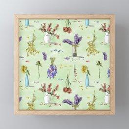 Moody Florals Framed Mini Art Print