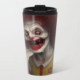 Ronald McDonald Metal Travel Mug