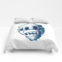 Pendemonium Gorilla by Madelyn DiPasquale Comforters