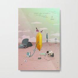 Land of Crystals Metal Print