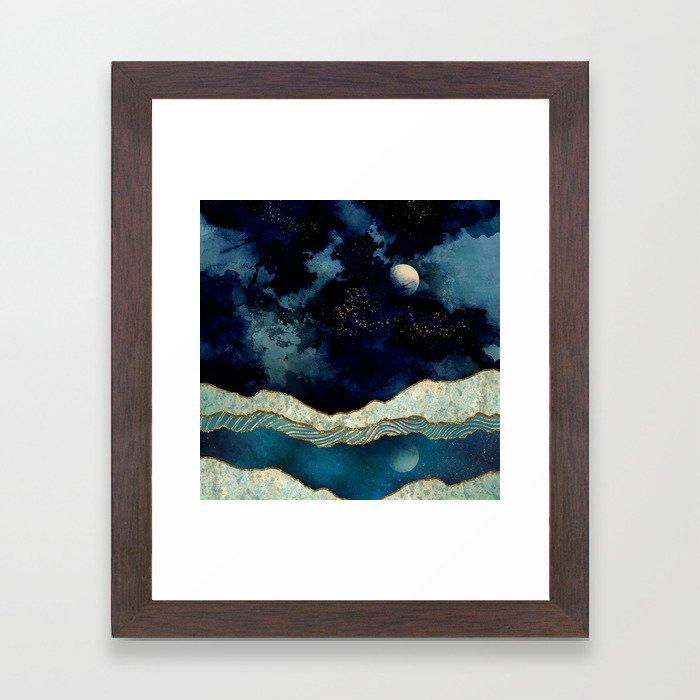 Indigo Sky Framed Art Print