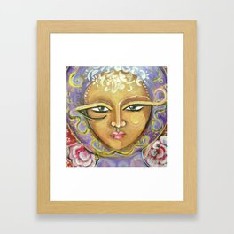 Magical Muse Framed Art Print
