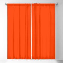 Flaming Orange Blackout Curtain